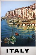 Vintage Travel Poster Italy
